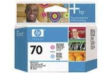 Eredeti HP 70 világos ciánkék és világos magenta nyomtatófej (C9405A