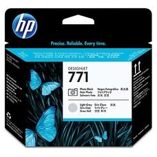 Eredeti HP 711 foto fekete és világos szürke nyomtatófej (CE020A)