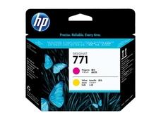 Eredeti HP 711 magenta és sárga nyomtatófej (CE018A)