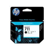 Eredeti HP 711 nagy kapacitású fekete patron (CZ133A)