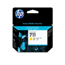 Eredeti HP 711 sárga patron (CZ132A)