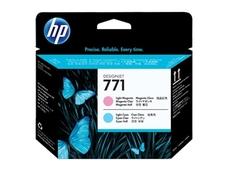 Eredeti HP 711 világos magenta és világos ciánkék nyomtatófej (CE019