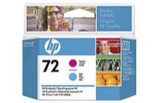 Eredeti HP 72 magenta és ciánkék nyomtatófej (C9383A)