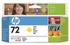 Eredeti HP 72 sárga patron (C9373A)