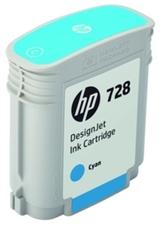 Eredeti HP 728 ciánkék patron (F9J63A)
