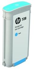 Eredeti HP 728 nagy kapacitású ciánkék patron (F9J67A)