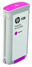 Eredeti HP 728 nagy kapacitású magenta patron (F9J66A)