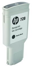Eredeti HP 728 nagy kapacitású matt fekete patron (F9J68A)