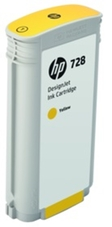Eredeti HP 728 nagy kapacitású sárga patron (F9J65A)