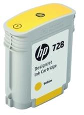 Eredeti HP 728 sárga patron (F9J61A)