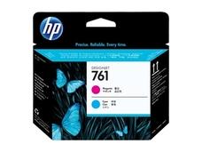 Eredeti HP 761 magenta és ciánkék nyomtatófej (CH646A)