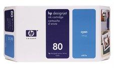 Eredeti HP 80 ciánkék patron (C4846A)