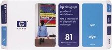 Eredeti HP 81 ciánkék nyomtatófej (C4951A)