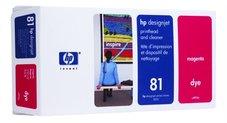 Eredeti HP 81 magenta nyomtatófej (C4952A)