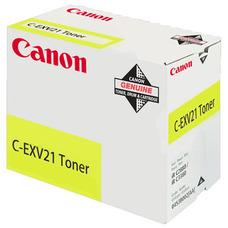 Eredeti Canon C-EXV 21 sárga toner