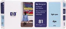 Eredeti HP 81 világos ciánkék nyomtatófej (C4954A)