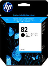 Eredeti HP 82 fekete patron (CH565A)