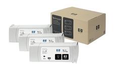 Eredeti HP 83 fekete 3-as csomag (C5072A)