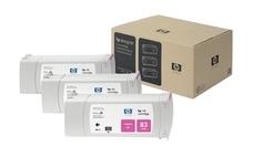 Eredeti HP 83 magenta 3-as csomag (C5074A)