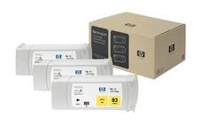 Eredeti HP 83 sárga 3-as csomag (C5075A)