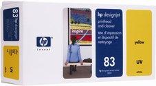 Eredeti HP 83 sárga nyomtatófej (C4963A)
