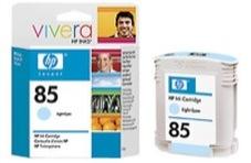 Eredeti HP 85 világos ciánkék patron (C9428A)