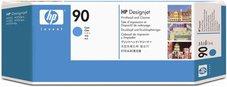 Eredeti HP 90 ciánkék nyomtatófej (C5055A)