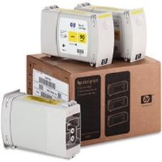 Eredeti HP 90 nagy kapacitású sárga 3-as csomag (C5085A)