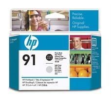 Eredeti HP 91 foto fekete és világos szürke nyomtatófej (C9463A)