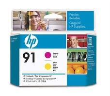 Eredeti HP 91 magenta és sárga nyomtatófej (C9461A)