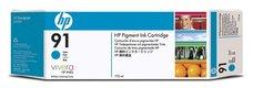 Eredeti HP 91 Multipack ciánkék patron (C9483A)