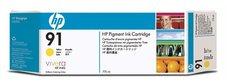 Eredeti HP 91 Multipack sárga patron (C9485A)