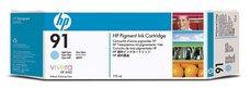 Eredeti HP 91 Multipack világos ciánkék patron (C9486A)