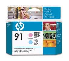 Eredeti HP 91 világos ciánkék és világos magenta nyomtatófej (C9462A