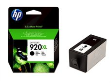 Eredeti HP 920XL nagy kapacitású fekete patron (CD975AE)