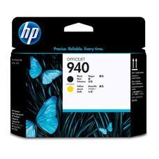 Eredeti HP 940 fekete és sárga nyomtatófej (C4900A)