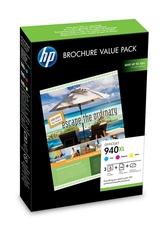 Eredeti HP 940XL színes patronok + brosúra papír (CG898AE)