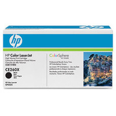 HP CE260X nagy kapacitású fekete toner (649X)