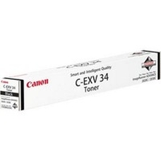 Eredeti Canon C-EXV 34 fekete toner
