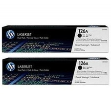 HP CE320AD dupla fekete toner (2db 128A)