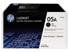HP CE505AD dupla fekete toner (2db 05A)