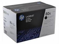 HP CF280XD dupla nagy kapacitású fekete toner (2db 80X)