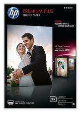 HP CR677A Premium Plus fotópapír, fényes, 10x15 cm, 25 lap,