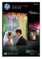 HP CR695A Premium Plus fotópapír, fényes, 10 x 15cm, 50 lap,