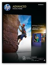 HP Q5456A fényes, A4, 25 lap, 250g/m2 fotópapír