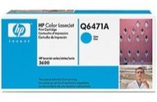 HP Q6471A ciánkék toner (502A)