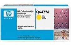 HP Q6472A sárga toner (502A)