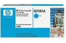 HP Q7581A ciánkék toner (503A)