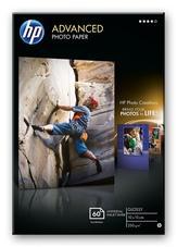 HP Q8008A szegély nélküli nyomtatáshoz, fényes , 10 X 15, 60