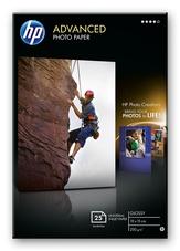 HP Q8691A szegély nélküli nyomtatáshoz,fényes, 10 x 15cm, 25